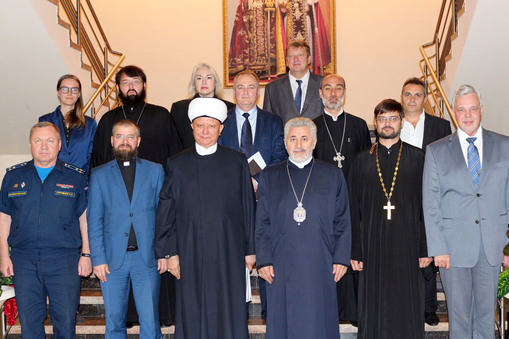Помощь религиозных общин России населению Сирии